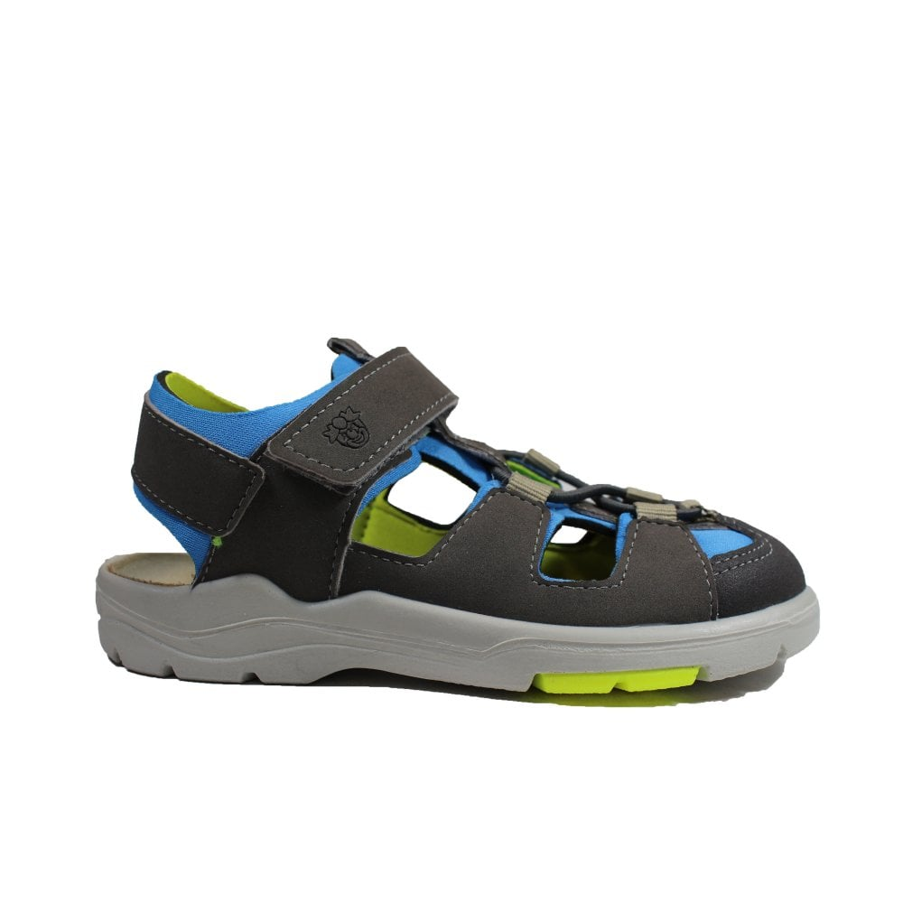 Ricosta Gerald 6522100-451 Grey Boys Closed Toe Sandals